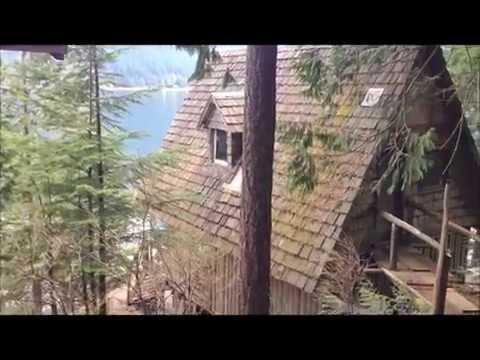 2988 Cozen Pitt Lake, BC - Waterfront Cabin For Sale