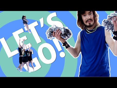 Irish People Try Cheerleading For The First Time