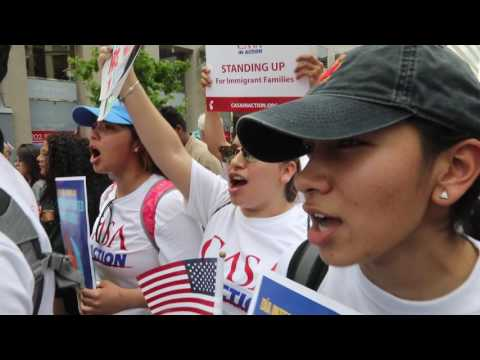 May Day Action: Immigrants and Workers March (Washington DC May 1, 2017)