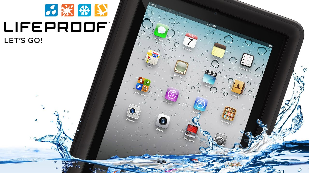 size 40 98fbb c8a84 Lifeproof Nüüd Case for iPad 2/3/4 - Water Test and Review @Lifeproof