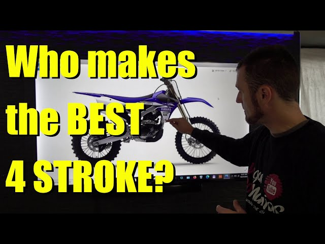 Who makes the BEST 4 STROKE Dirt bike or Trail bike? European vs Japanese
