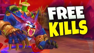FREE EASY KILLS JUNGLING TIP - The Return Gank - League of Legends