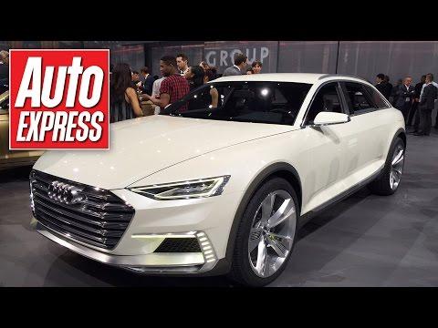 Revealed: Audi's 724bhp Prologue Allroad concept