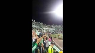 Atletico Nacional 2 vs junior 1 Canticos Los del sur