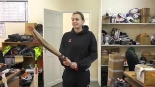 England Womens Cricket Star Laura Marsh talks to Gray-Nicolls