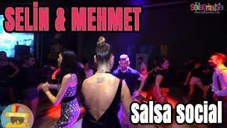 SELİN ÖBEKÇİ & MEHMET ÇETİN  (Social Salsa Dancing Videos)