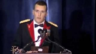 Paul Ray Smith Award: Cpt Bryan Jackson - Award Acceptance - AVC Conference 2008