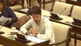Segundo González en la Comisión para las Relaciones con el Tribunal de Cuentas el 16 de Noviembre