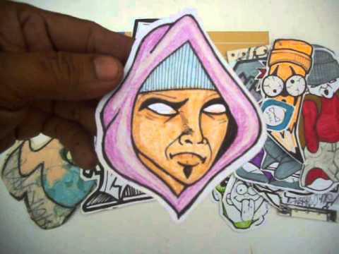 Graffiti Stickers cool Characters by Cholowiz13 for ...