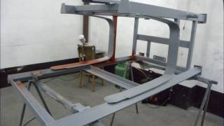 Renowacja Malowanie Piaskowanie Opryskiwacza Skotarek part  I