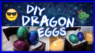 Dragon Eggs Tutorial // DIY + Game of Thrones