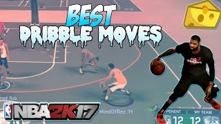 Nba 2k17 tips -  best dribble moves, combos, speedboost to get ankle breakers in mypark! nba 2k17