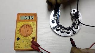 Проверка диодного моста ВАЗ 2104,2105,2107 (инжектор) своими руками. видео.