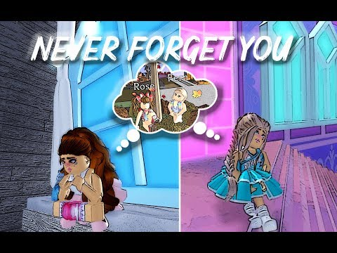 Never Forget You / Roblox Royale High Music Video