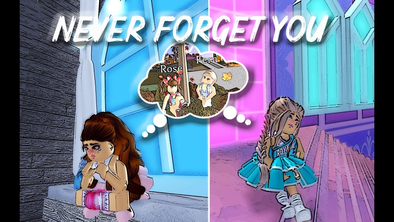Never Forget You Roblox Royale High Music Video Youtube
