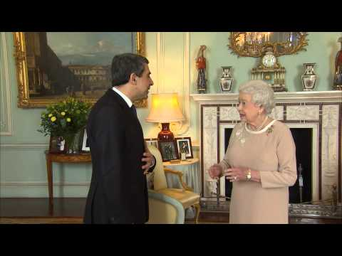 The President of the Republic of Bulgaria visits The Queen
