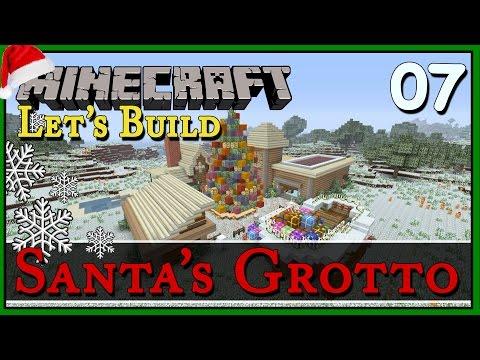 Santa's Grotto :: Minecraft Let's Build :: E7