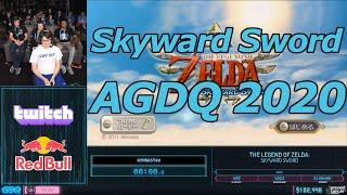 [AGDQ 2020] Skyward Sword Any% Speedrun in 2:25:36
