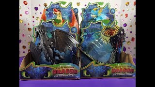 How To Train Your Dragon 3 Toy Dragons Action Figures