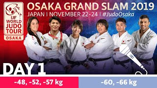 Judo Grand-Slam Osaka 2019: Day 1 Commentated