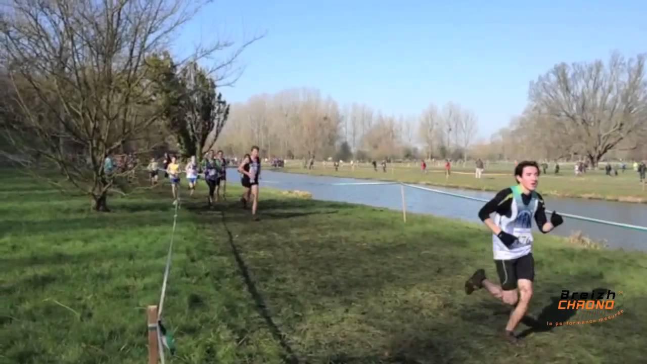 Bsv Normandie inter cross regional bretagne normandie à eu - cadets - youtube