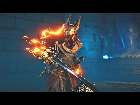 Assassin's Creed Origins  FFXV A Gift From The Gods Quest & BAHAMUT   FFXV Weapons
