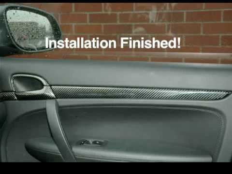 Porsche Cayenne 955 Door Trim Installation By Macarbon Youtube