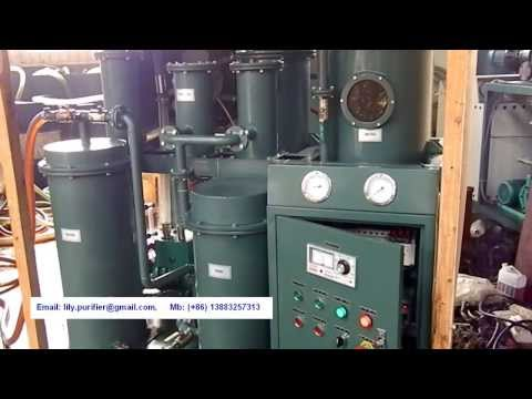 Sell Lubricating Oil Purifier Machine, Hydraulic Oil Filtration Unit, Oil Dewater