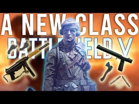 A new class - Battlefield 5