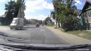 г  Сызрань, ул  Урицкого  'Подводные камни' при проезде 'кольца'