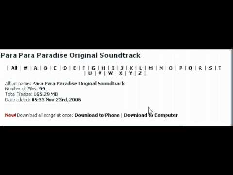 Download MP3 Games ParaParaParadise for Free!!!