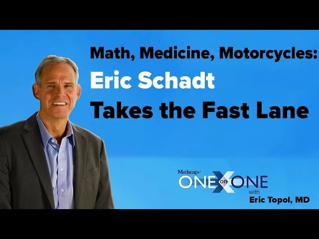 Math, Medicine, Motorcycles: Eric Schadt Takes the Fast Lane
