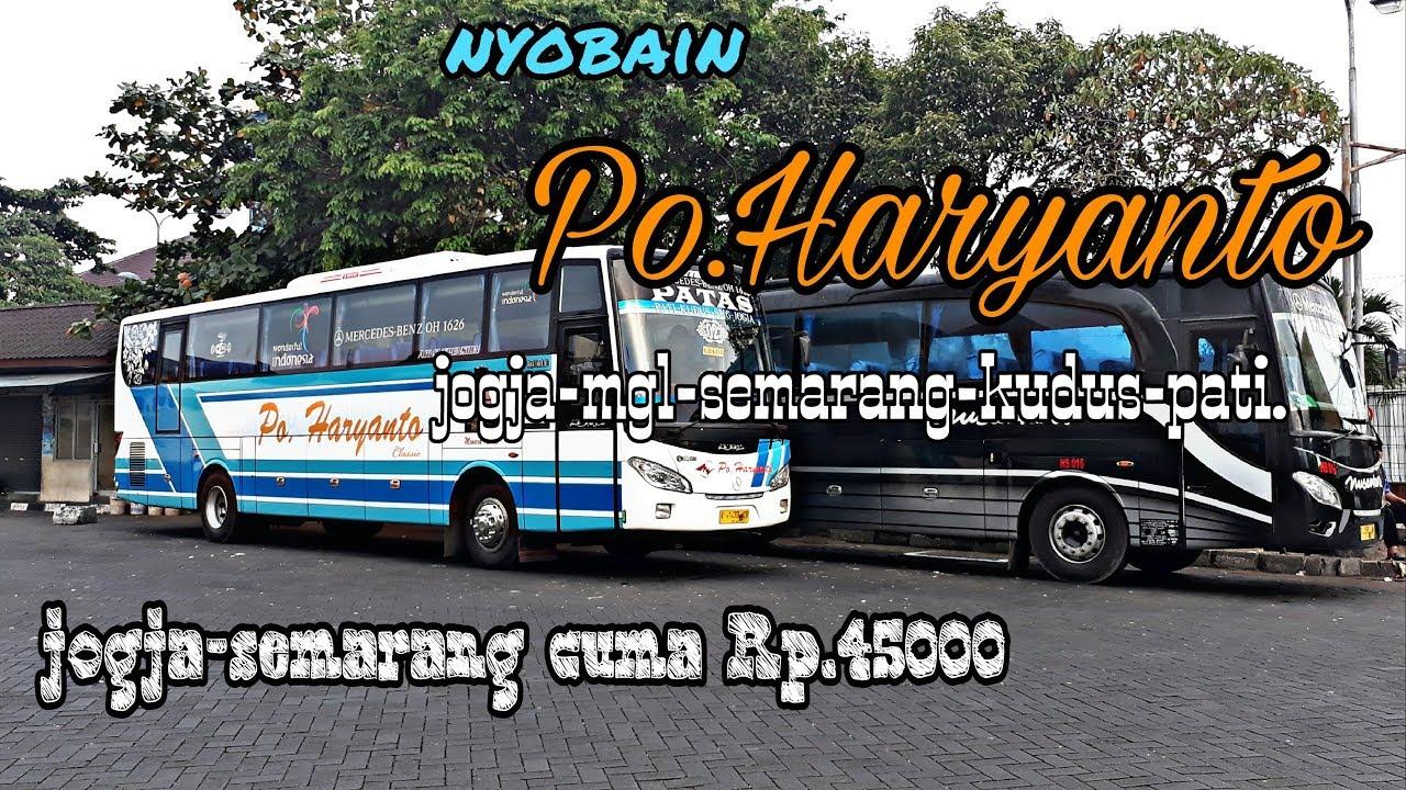 Nyobain Bis Po Haryanto Jogja Semarang Pengalaman Pertama Kali Naik Po Haryanto