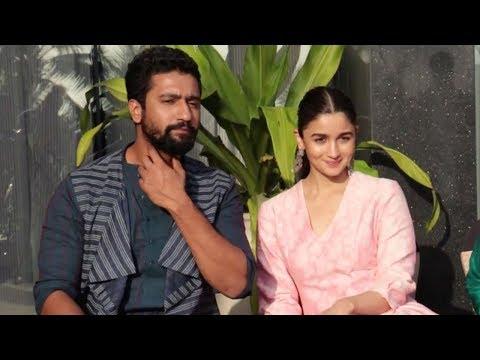 Alia Bhatt & Vicky Kaushal's EXCLUSIVE Interview For Upcoming Movie Raazi