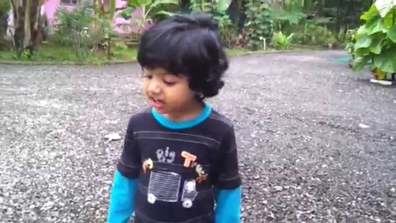 Cute kerala baby talking malayalam like agnes form despicable me youtube