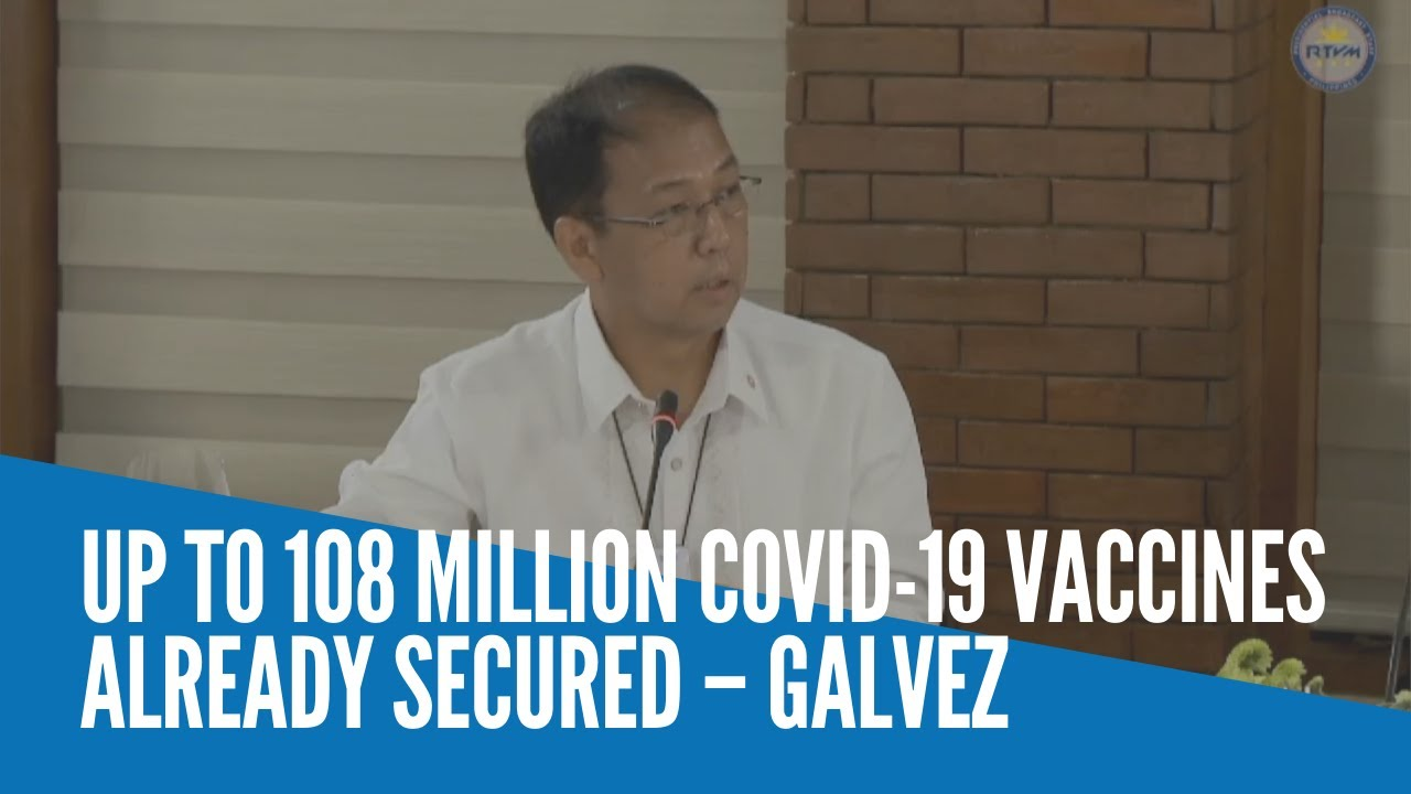 Up to 108 million Covid-19 vaccines already secured – Galvez - INQUIRER.net