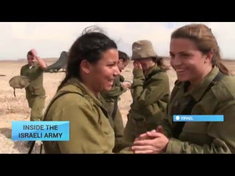 Inside the Israeli Army: Experience of women fighting alongside men on equal terms