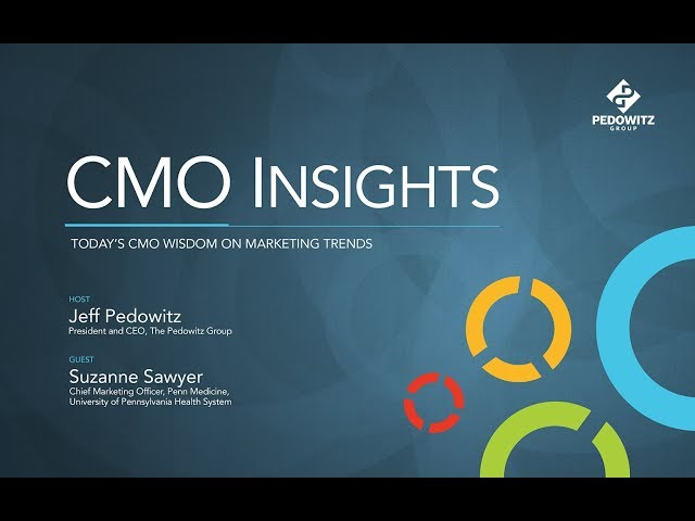 CMO Insights: Suzanne Sawyer, Vice President and Chief Marketing