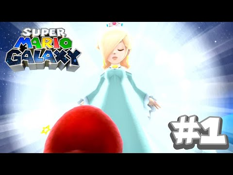 Super Mario Galaxy #1 - The beginning (Super Mario 3D All Stars)
