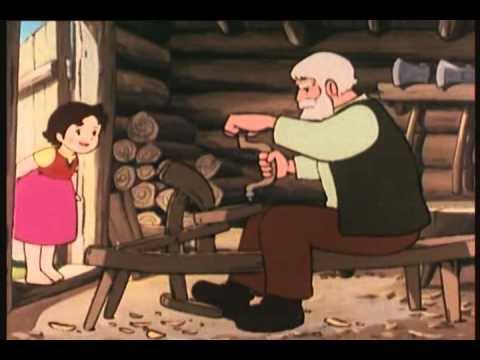HEIDI 02-le chalet de grand-père