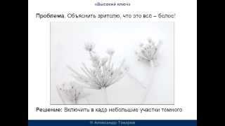 Обучение фотографии  Высокий ключ(Видеопродолжение книжки «Отличное фото своими руками», которую можно БЕСПЛАТНО скачать здесь: http://foto.justclick...., 2012-12-30T14:02:34.000Z)
