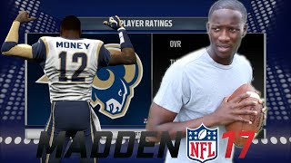 UNDRAFTED ROOKIE BEATS #1 OVERALL PICK FOR STARTING SPOT | MADDEN 17 PLAYER CAREER
