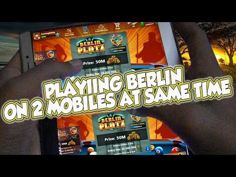 Playing Berlin on Two Devices at Same Time in 8 Ball Pool - Epic Gameplay - Sub's Challenge#10