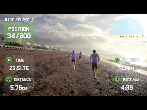 GOOGLE GLASS FOR FITNESS - Race Yourself - Virtual Reality Fitness Motivation