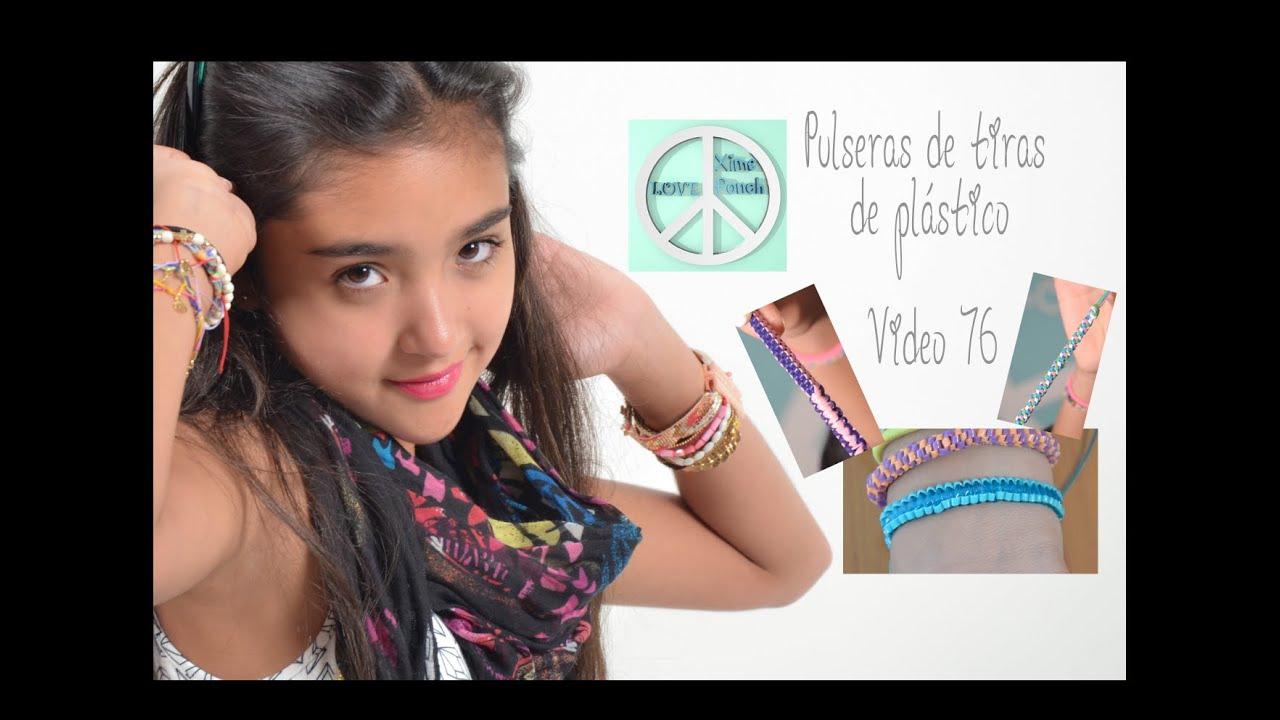 Pulseras de tiras de pl stico video 76 xime ponch youtube for Cuarto de xime ponch
