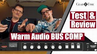Warm Audio Bus Comp Test & Review | Gear Time