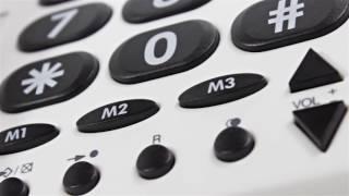 Produktvideo zu Großtasten-Telefon Doro PhoneEasy 311c