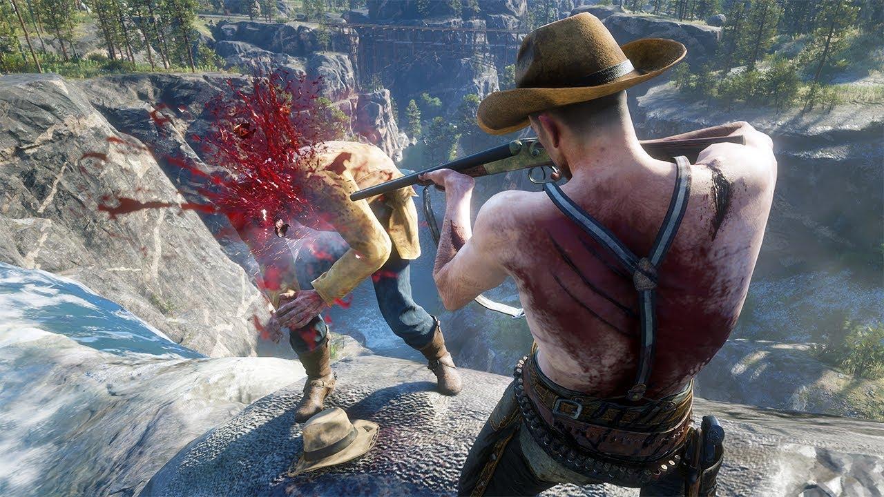 Red Dead Redemption 2 PC 60FPS - Funny & Brutal Moments Vol. 94 (Euphoria Ragdolls)