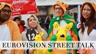 Eurovision 2015 FINAL Street Talk | Austria & Australia