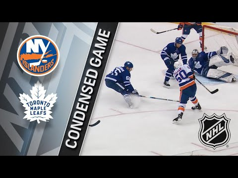 01/31/18 Condensed Game: Islanders @ Maple Leafs